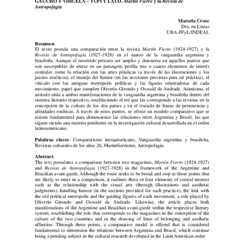 02 CROCE Martin Fierro y Revista de Antropofagia.pdf