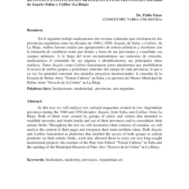 22 FASCE Revistas e instituciones artísticas en las provincias NUEVO.pdf