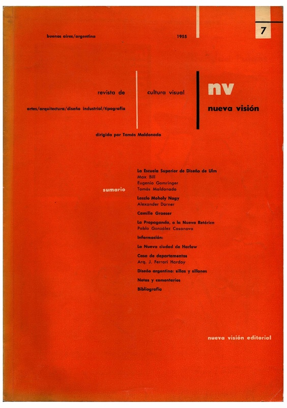 Nueva Visión : Revista de cultura visual